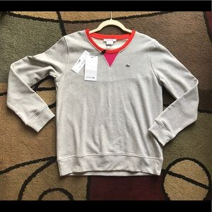 Ladies New Lacoste Sweatshirt